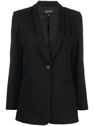 Emporio Armani Single Breasted Tuxedo Jacket 60