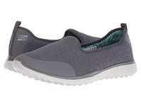 Skechers Microburst It's My Life Charcoal Gray Women's Shoes Multi