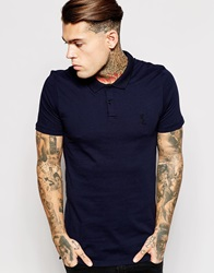 Religion Jersey Polo Shirt Navy