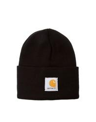Carhartt Acrylic Watch Beanie Hat Black