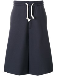 Societe Anonyme Ultra Wide Shorts Blue