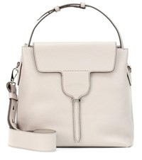 Tod's New Joy Small Leather Shoulder Bag Grey