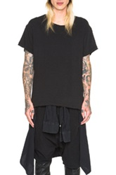 R 13 R13 Lukas Tee In Black