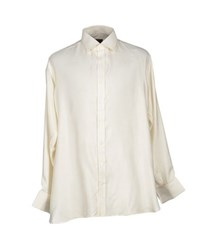Emma Willis Shirts Shirts Men Ivory