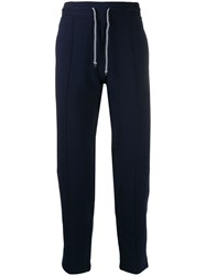 Brunello Cucinelli Tapered Track Pants Blue