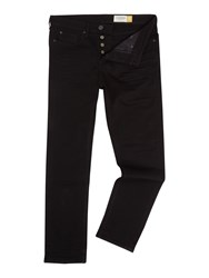 Criminal Slater Slim Fit Black Rinse Jean Black