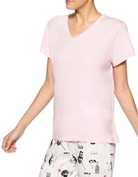 Hue V Neck Sleep Tee Fairy Tale Pink