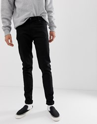 Weekday Tall Form Super Skinny Jeans Stay Black