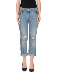 Pinko Denim Capris Blue