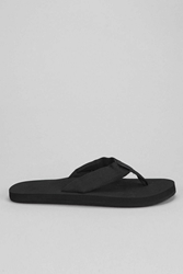 Rainbow Cloud Thong Sandal Black