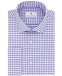 Ryan Seacrest Distinction Men's Slim Fit Non Iron Grappa Check French Cuff Dress Shirt Only At Macy's
