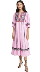 Figue Electra Dress Afterglow Pink