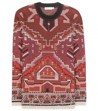 Tory Burch Wool Blend Sweater Multicoloured