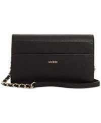 Guess Katiana Flap Crossbody A Macy's Exclusive Style Black