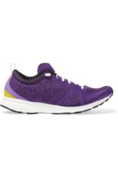 Adidas By Stella Mccartney Adizero Adios Mesh Sneakers Purple