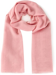 Denis Colomb 'Mustang' Scarf Pink And Purple