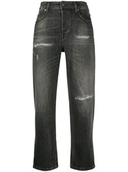 Diesel High Rise Distressed Jeans 60