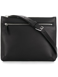Theory Belted Style Zipped Bag Black