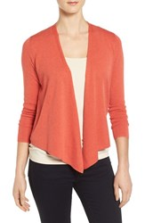 Nic Zoe Women's Four Way Convertible Cardigan Spice Berry