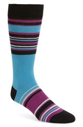 Ted Baker London Ruuth Stripe Socks Black