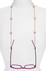 L. Erickson 'Charmer' Eyeglass Chain Rose Gold