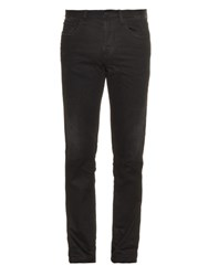 Gucci Mid Rise Slim Fit Jeans Black