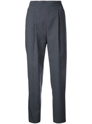 En Route High Waisted Trousers Grey