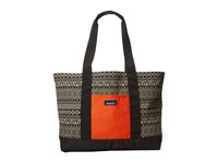 Kavu Shilshole Tote Knitty Gritty Tote Handbags Black