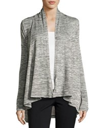 Vince Camuto Long Sleeve Wrap Cardigan Black