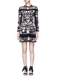 Needle And Thread 'Embroidery Lace Prom' Lace Insert Embellished Dress Multi Colour