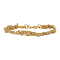 Acne Studios Gold Angel Bracelet