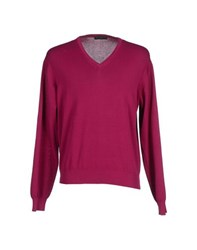 Bramante Knitwear Jumpers Men Garnet