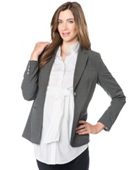 A Pea In The Pod Maternity Blazer Charcoal