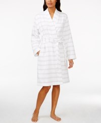 Charter Club Striped Cotton Robe Only At Macy's