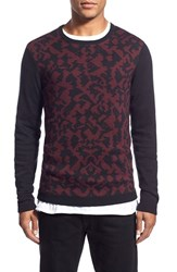 Men's The Rail Abstract Panel Crewneck Sweater 2 For 80