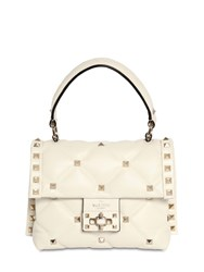 Valentino Garavani Candy Leather Bag Ivory