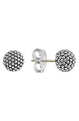 Lagos Women's 'Columbus Circle' Ball Stud Earrings Sterling Silver