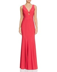Decode 1.8 Seamed Gown 100 Exclusive Fuchsia