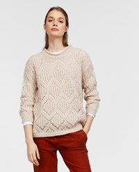 Aspesi Alpaca And Wool Sweater Ice