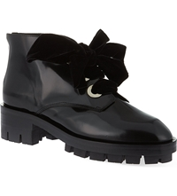 Sandro Aline Ankle Boots Black