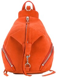 Rebecca Minkoff Small Zip Backpack Orange