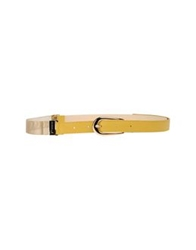 Guess By Marciano Belts Yellow