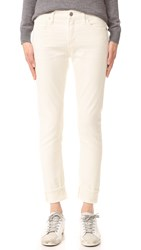 Citizens Of Humanity Jazmin Cuffed Slim Straight Jeans Natural