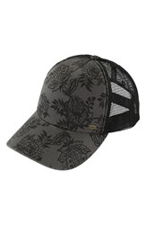 O'neill Women's 'Scenic Point' Trucker Hat Grey Smoked Pea