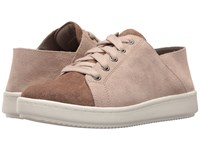 Eileen Fisher Clifton Mushroom Pebble Sport Suede Women's Lace Up Casual Shoes Brown