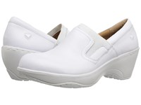 Nurse Mates Briley White Women's Clog Shoes