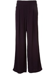 Ginger And Smart Orphic High Rise Trousers Purple
