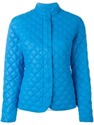 Save The Duck Giga Quilted Jacket Blue