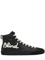Gucci Major Blind For Love Leather Sneakers