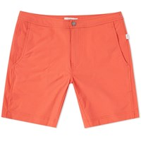 Onia Calder 7.5 Solid Swim Short Orange